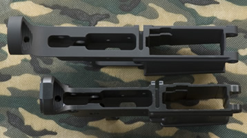 Stripped AR lowers