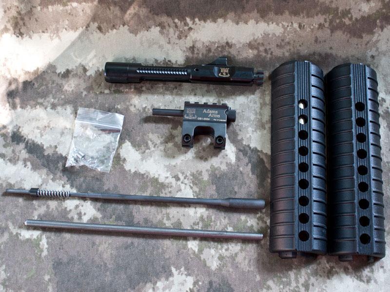 Adams Piston Kit Upper Build
