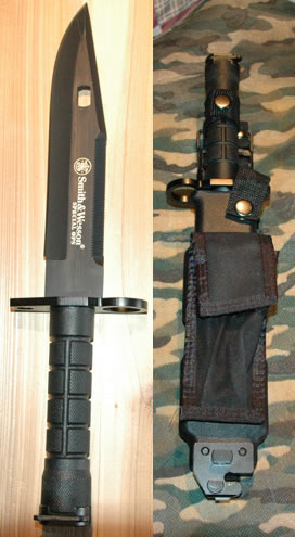 Smith & Wesson SW1B Spec Ops M9 Bayonet