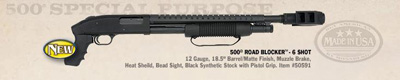 Mossberg 500 Roadblocker Shotgun